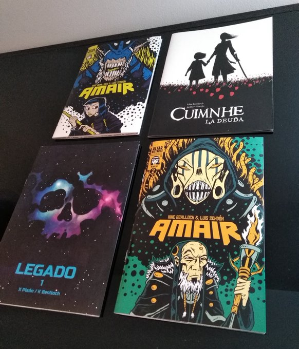 Os comic-books que tendes que comprar
